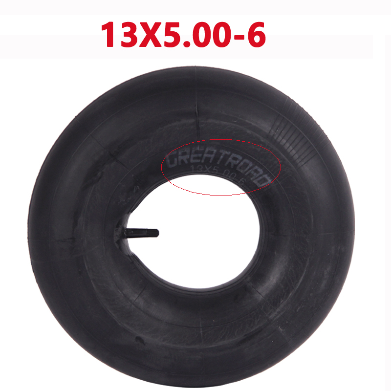 5.00-6 13X5.00-6 145/70-6 Tire Inner Tube Lawn Mower Tire Inner Tube Gas Electric Scooter Bike Lawn Mower