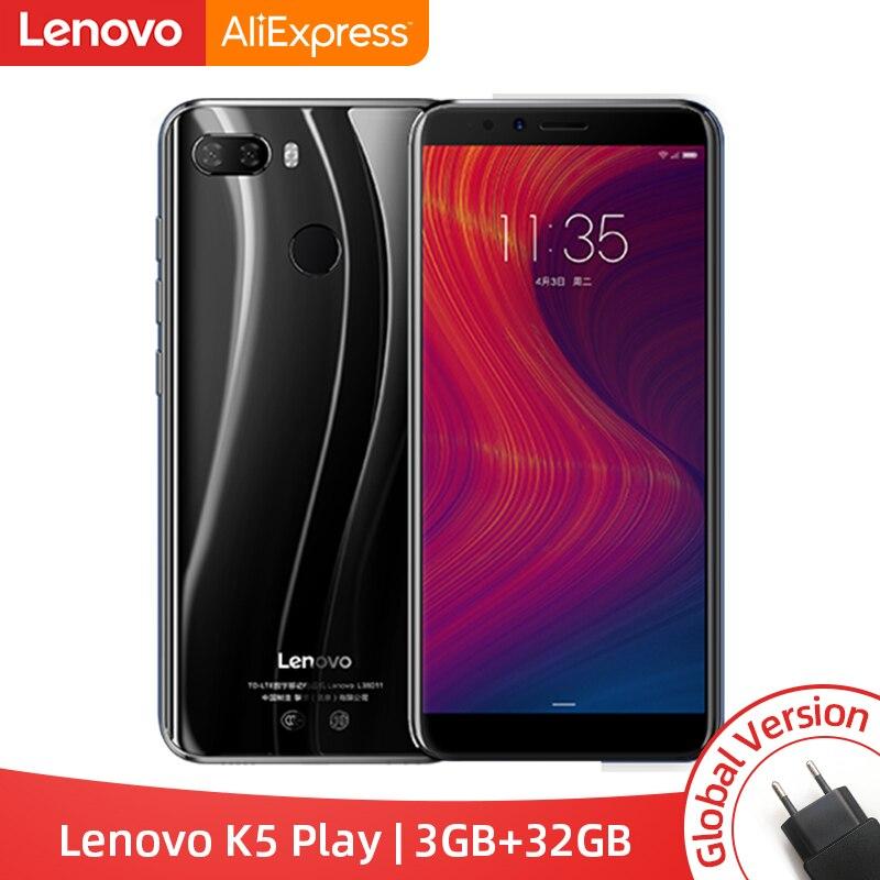Version mondiale Lenovo K5 Play 3GB 32GB Snapdragon 430 Octa Core Smartphone 1.4G 5.7