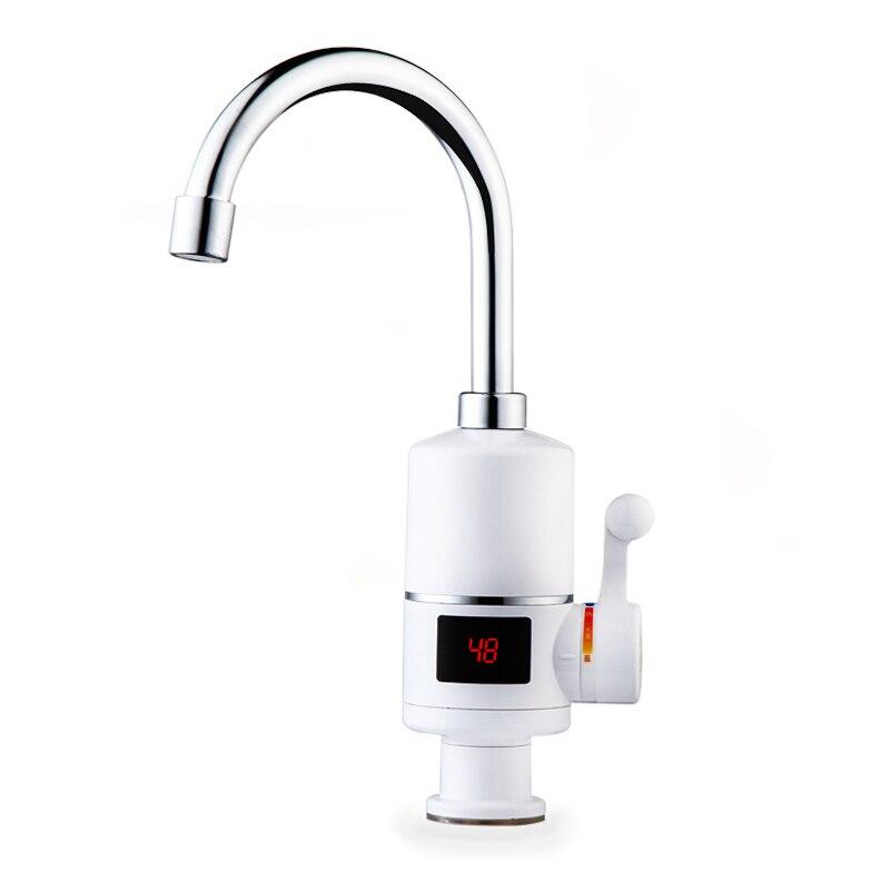 Chauffe-eau électrique instantané de douche de 3000W robinet chaud instantané de cuisine chauffage électrique de l'eau du robinet chauffage instantané de l'eau