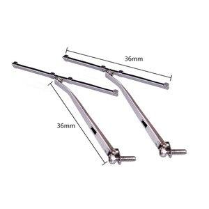 Image 5 - Limpiaparabrisas delantero de Metal para coche, accesorio de piezas de control remoto, para Traxxas TRX4 Defender 1/10, 1 par