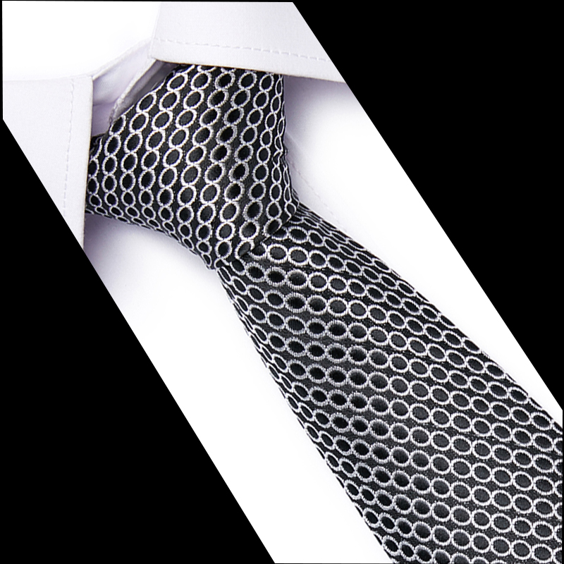 100% Silk Men Solid Tie Polka 7.5cm Neck Ties 54 Style Fashion Neckties Classic Men's Stripe Blue Wedding Tie Jacquard Woven Tie