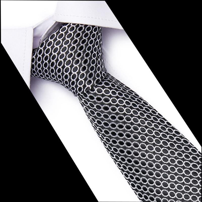 100% Silk Men Solid Tie Polka 7.5cm Neck Ties 54 Style Fashion Neckties Classic Men's Stripe Blue Wedding Tie Jacquard Woven Tie