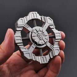 Kupfer Star-Trek Finger Spinner Fidget Spinner Fingertip Gyro EDC Hand Spinner Erwachsene Anti Stress Kreative Freizeit Spielzeug