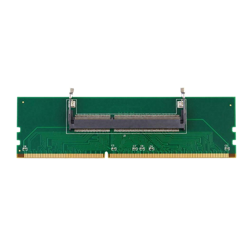 Laptop DDR3 RAM Memory To Desktop Converter Adapter Card 240P To 204P Generation Memory Riser Card Test Special Card RAMs     - title=
