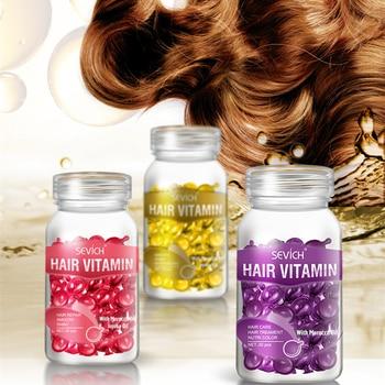Sevich Hair Vitamin Pro Keratin Complex Oil Smooth Silky Hair Mask Repair Damaged Hair Serum Moroccan Oil Anti Hair Loss Care 30 1
