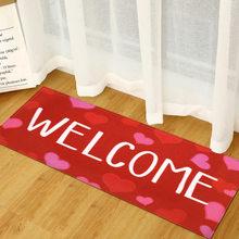 Домашние коврики для влюбленных, прямоугольный Противоскользящий ковер для прихожей, спальни, кухни, входного пола, коврик для ванной, дома...
