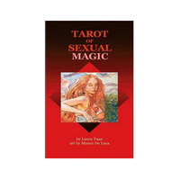 100% Original English & Spanish Tarot of Sexual Magic board game adult tarot card deck Divination gaming cards 78pcs/set