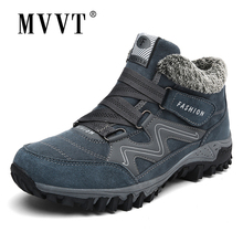 Winter Boots Outdoor Lovers Hiking Shoes With Fur Snow Boots Men Women Sneakers Non-slip Sport Shoes Mountain Trekking Shoes hiking boots women waterproof mouantain shoes winter snow boots for women anti slip outdoor trekking sneakers ladies boots