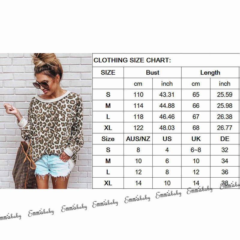 Mode Lange Hülse Lose Leopard Tops Dame Winter Warme Streetwear Pullover Casual Frauen Bluse Pullover Koreanische Kleidung