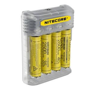 Image 4 - NITECORE Q4 4 Bay 2A için hızlı şarj Li ion IMR 16340 10440 AAA 14500 18650 26650 elektronik sigara pil şarj cihazı