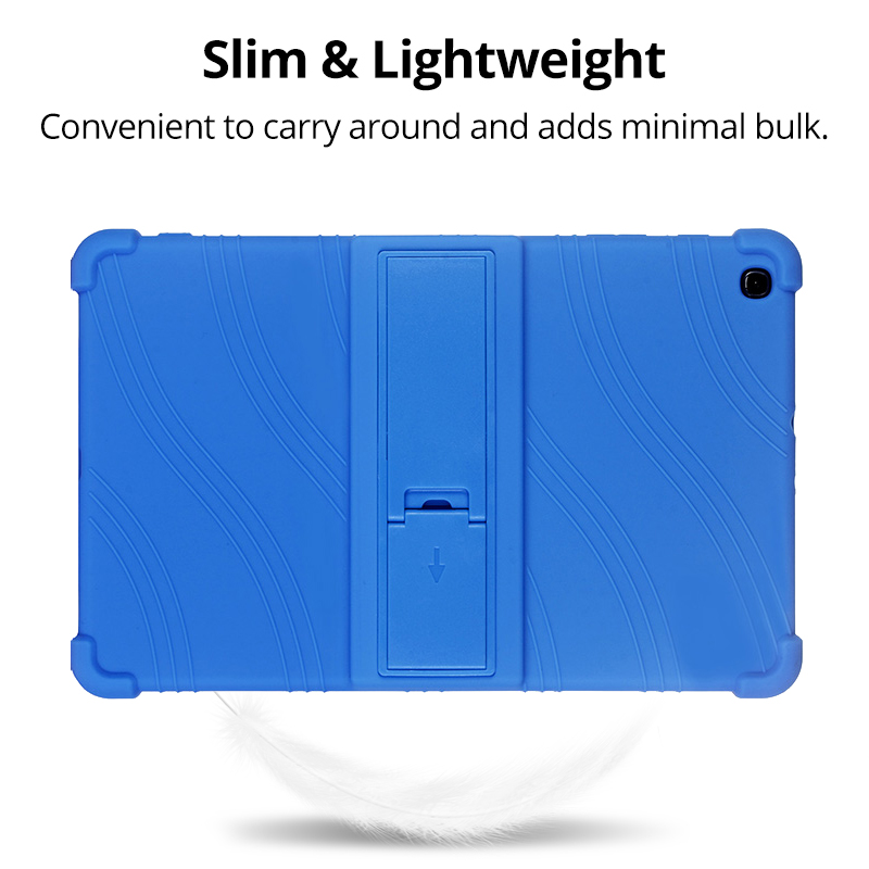 Case for Samsung Galaxy Tab A 10.1 2019 T510 S6 Lite 10.4 P610 8.0 T290 S5E 10.5 T720 Kids Case Stand Silicone Shockproof Cover-5