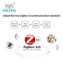 zigbee gate way ZigBee3.0 Ethernet Modem WEB Network SOCKET working E180-DTU(ZG120-ETH) DC Power Transceiver and Receiver