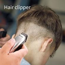Kemei Mini Trimmer Shaver Portable Electric Hair Clipper For Men Cutting Male Beard Barber Razor Cordless Cutter Battery Machine