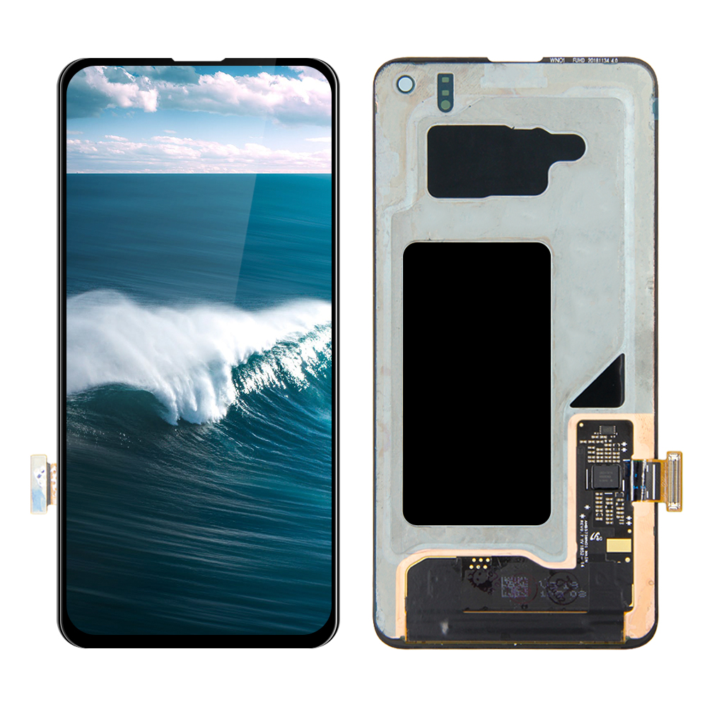 LCD For SAMSUNG Galaxy S10 E G970F/DS G970W G970U <font><b>SM</b></font>-<font><b>G9700</b></font> LCD Display Touch Screen Digitizer With Frame Replacement image