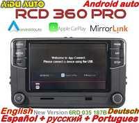 Android Auto Carplay RCD360 PRO NONAME RCD330P RCD340P 187B Radio pour VW Golf 5 6 Jetta MK5 MK6 Tiguan Passat B6 B7 CC Polo 6R
