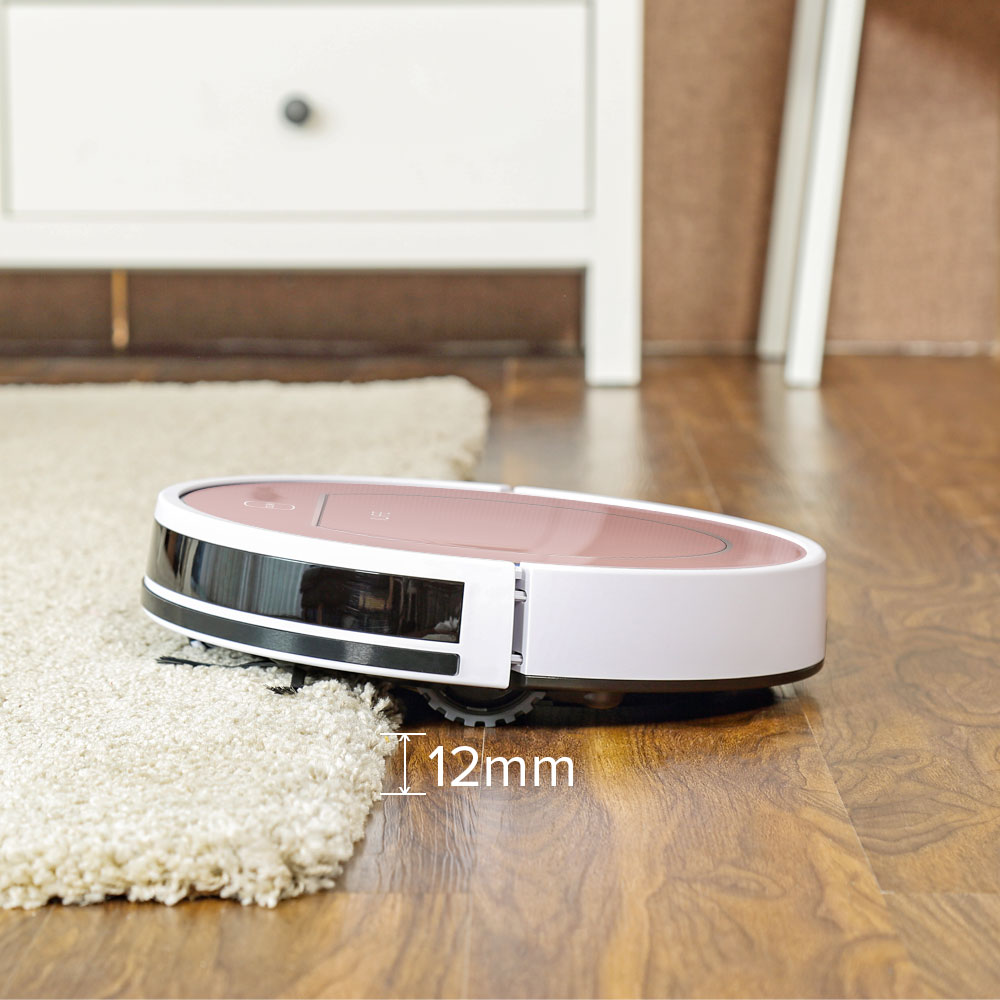 ILIFE V7s Plus Robot Vacuum Cleaner Sweep&Wet Mop Simultaneously For Hard Floors&Carpet Run 120mins before Automatically Charge 2