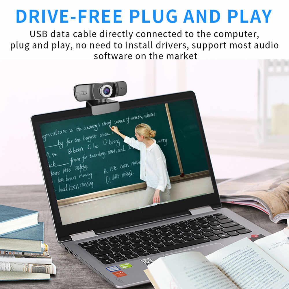 H45 Full HD 1080P Web Cam Desktop PC Video Calling Webcam Camera with  Microphone Mic| | - AliExpress