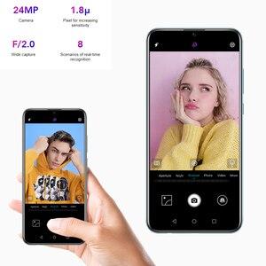 Image 4 - Honor 10 Lite 128GB Global Version SmartPhone NFC 24mp Camera Mobile Phone 6.21 inch 2340*1080 pix Display Fingerprint