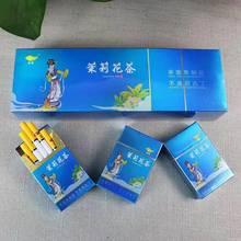 Venda quente hortelã jasmim flor chá cigarros de ervas chá fumaça pesada fumar parar de fumar 100% livre de fumaça-100% nicotina-livre