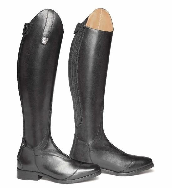 Women's Smooth Leather Horseback Riding Knee High Boots 5
