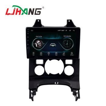 LJHANG Car DVD Player Android 10 For Peugeot 3008 2009-2015 GPS navigation Multimedia WIFI Car Radio Stereo Automotive Headunit image