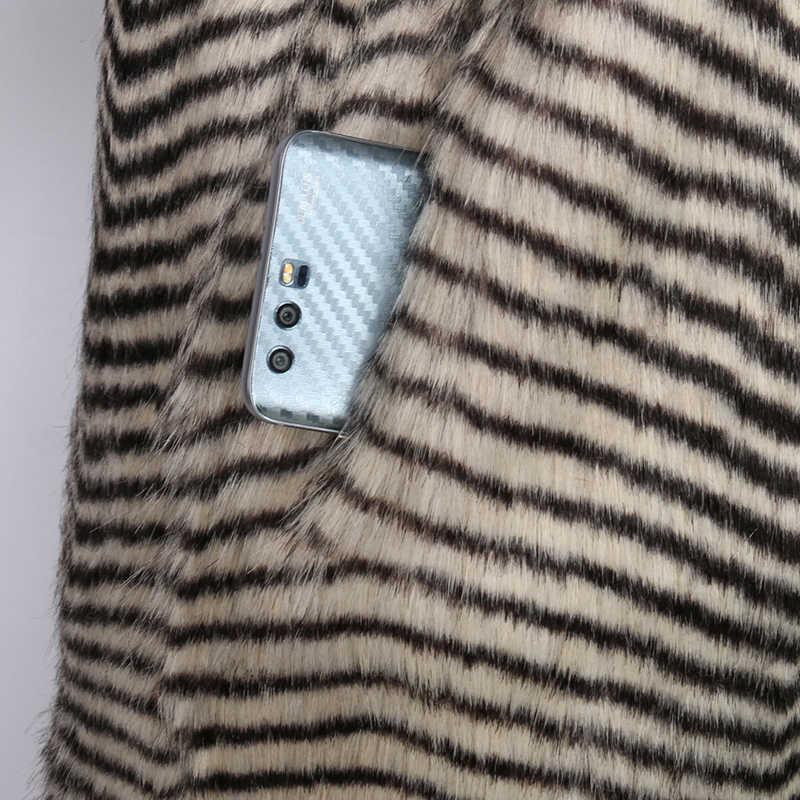 Nerazzurri frauen winter faux pelzmantel mit große kapuze und raglan hülse lange warm outwear shaggy plus größe flauschigen jacke 6xl 7xl