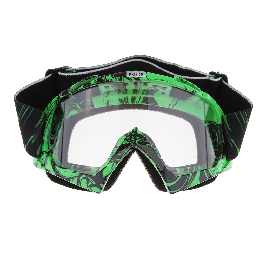 Motorcycle Goggles Vintage Motocross Goggles Grip Helmet Windproof Dustproof Anti Fog Safety Glasses ATV Racing