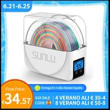 Коробка для сушки нити SUNLU 3D, держатель для хранения нити FDM 3D, сушилка для нити FilaDryer S1, быстрая доставка