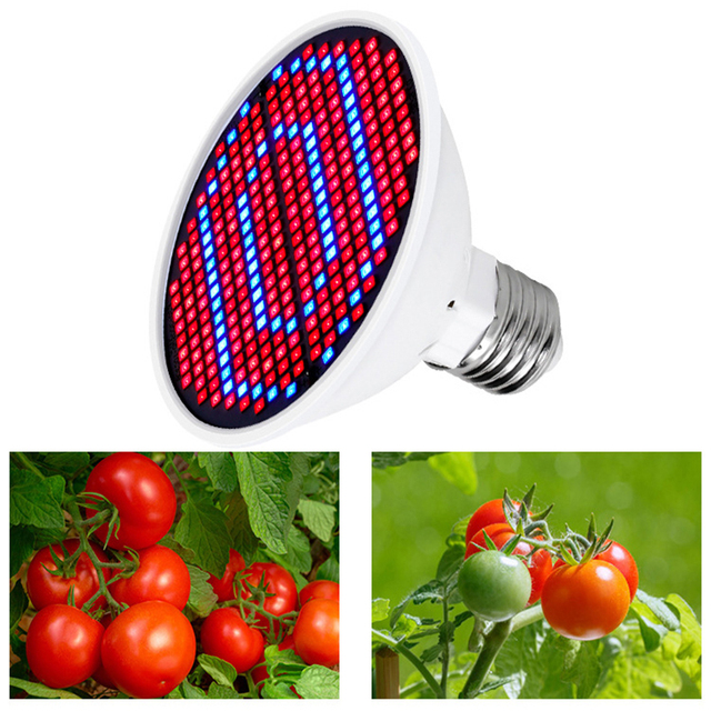 Led Grow Light Phytolamp for Plant Lamp Full Spectrum Grow Tent Lights Lamp Grow Lamp Indoor Lighting Hydroponic Growth LightE27 3