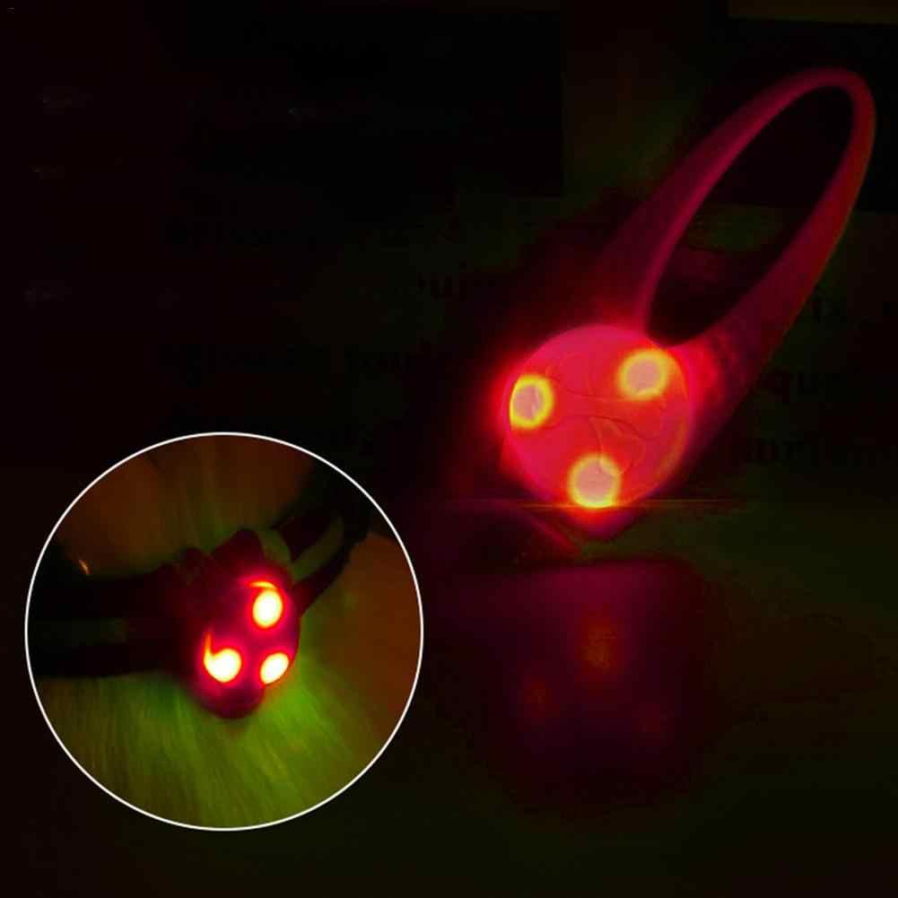 Светодиодный подвесной светильник для собак, подвеска для животных, брелок для собак, ночная безопасность, светящийся кулон, аксессуары для домашних животных
