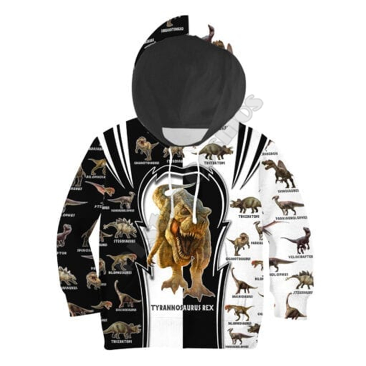 Love Dinosaur 3D Printed Hoodies Kids Pullover Funny Animal Sweatshirt Tracksuit Jacket T Shirts Boy For Girl Style-9
