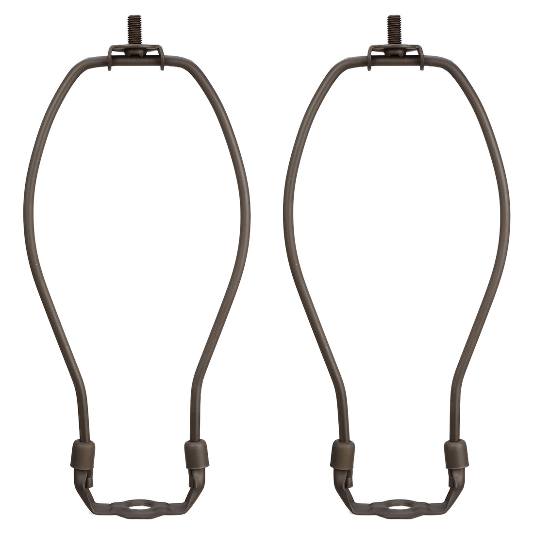 Uxcell Uxcell High Quality 1-2 Pcs Lamp Harp Holder Bronze 6 Inch Height Chocolate For Table And Floor Lamps Non Screws