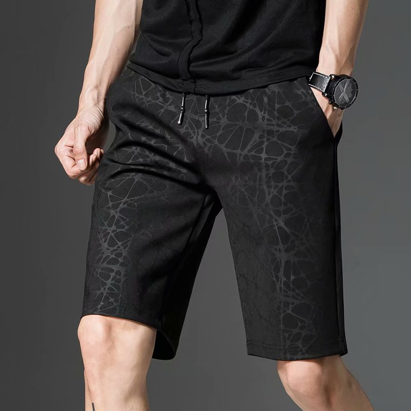 Shorts Men's 2018 Summer Camouflage Floral Breathable Straight-Cut MEN'S Casual Shorts Sports Men's Short Casual Pants