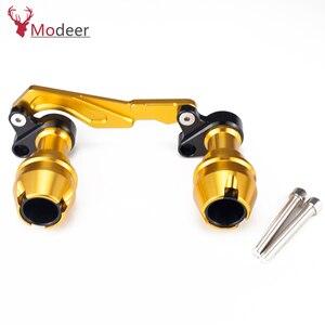Image 2 - Modificado xmax traseiro protetor slider acidente guarda eixo traseiro silenciador tubo quadro caindo sliders para yamaha x max 300 400 125 250