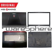 Nuovo Originale per MSI GE73VR 17C7 LCD Della Copertura Posteriore Posteriore Coperchio/Frontalino/Palmrest /Bottom Case/tastiera Retroilluminata US Nero