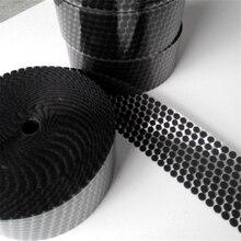 50 пар нейлона крючков и петель Стикеры сильный самоклеющиеся в круглый горошек клей на наклейки для домашнего использования Шторы крепежа
