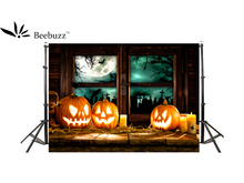 Beebuzz photo backdrop halloween pumpkin head background