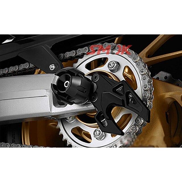 Aluminum Alloy Rear Wheel Axel Protection  6