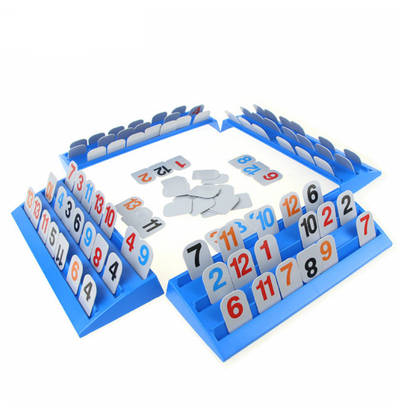 Strategy Reasoning Digit Game Rummikub Logical Party Game Israeli Mahjong Dobble Intelligence Toy For Kids Or Grownups