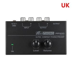 Image 2 - 2021 nouveau préamplificateur de préampli Phono PP500 avec contrôle du Volume de niveau pour platine vinyle LP