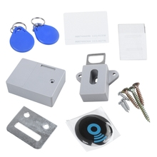 купить Invisible Hidden RFID Free Opening Intelligent Sensor Cabinet Lock Locker Wardrobe Shoe Cabinet Drawer Door Lock Electronic Da по цене 529.52 рублей