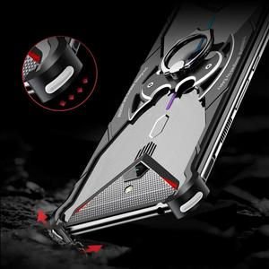 Image 5 - Suitable Case For Nubia Red Magic 3 mobile Phone Case metal bracket bare metal sense Bat bracket Phone Case For Red Magic 3S