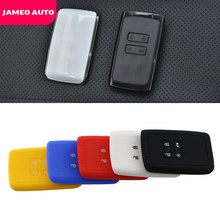 Silicone Key Fob Cover Case Holder for Renault Talisman Captur Espace Clio Megane Koleos Scenic 4 2016 2020 Card Remote Keyless