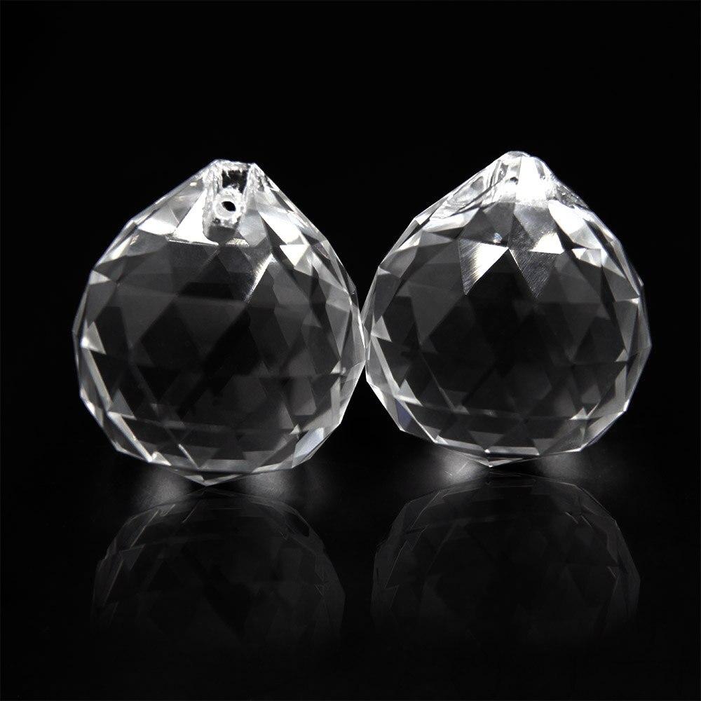 4 teile/los 40mm Kristall Facettierte Kugel Kristall Kronleuchter Ball Teile Für Hochzeit Fengshui Produkte X Mas Dekoration Freies verschiffen-in Kronleuchter Kristall aus Licht & Beleuchtung bei  Gruppe 1