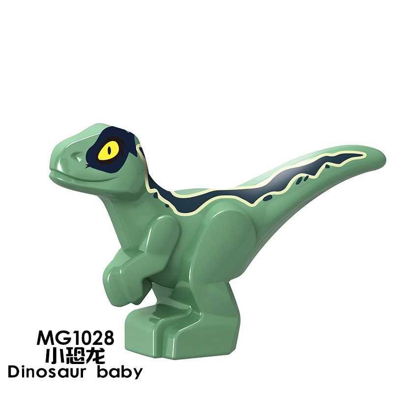 Dinosauro di Jurassic Velociraptor Triceratop T-Rex Compatibile per Dinosauri Del Mondo di Costruzione di Blocchi di Giocattoli Educativi per il Capretto