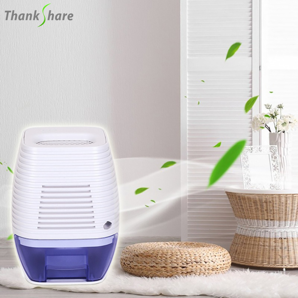 THANKSHARE Portable Quiet Electric Home Drying Moistur Absorber Auto off Dehumidifier 300ML Cool Dryer For Bedroom Kitchen Offic|Dehumidifiers| |  - title=