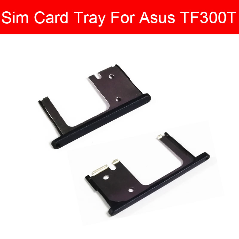 SIM Card Slot Tray Holder For Asus Transformer Pad TF300T Sim Card Reader Card Socket Adapters Replacement Repair Parts