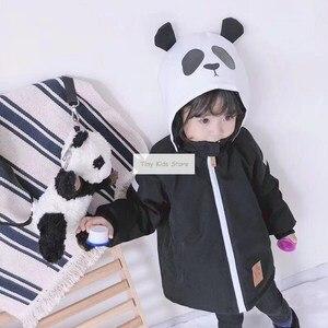 Image 5 - Girlymax niños línea de ropa amigos panda snowsuit niños ropa Niñas Ropa familia juego ropa estilo coreano