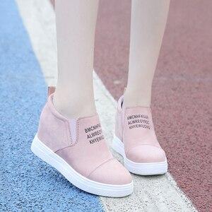 Image 5 - AARDIMI kadın mokasen Creepers Platform ayakkabılar kadın rahat ayakkabılar kadın takozlar Sneakers kadınlar üzerinde kayma düz ayakkabı sonbahar