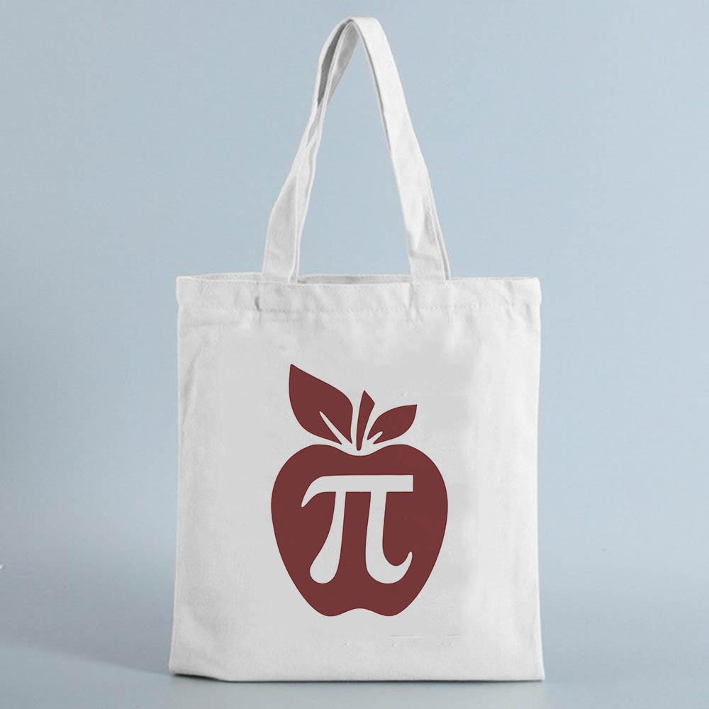 Tote bag Peace Love Teach - Sac professeur institutrice en toile Créer Son T Shirt